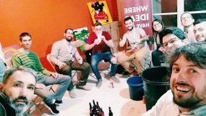 Gente inquieta formando comunidad en Impact Hub Zaragoza
