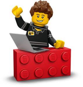 Imagen de una pieza de Lego