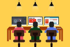 imagen de tres coworkers