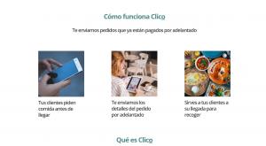 Imagen de la web de Clico